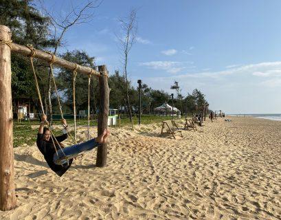 Breathtaking view of padubidri beach, near Udupi